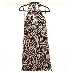 White House Black Market halter dress